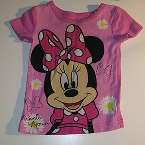 😎 Disney Minnie Mouse PJ Top